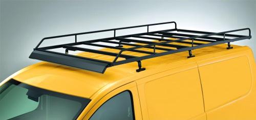 Dachgepäckträger aus Stahl für Ford Custom, Bj. ab 2012, Radstand 3300mm, Flachdach, mit Heckklappe