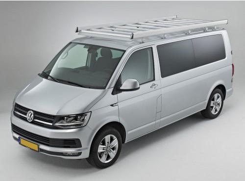 Dachgepäckträger aus Aluminium für Volkswagen T6, Bj. ab 2015, Radstand 3000mm, Normaldach, mit Heckklappe