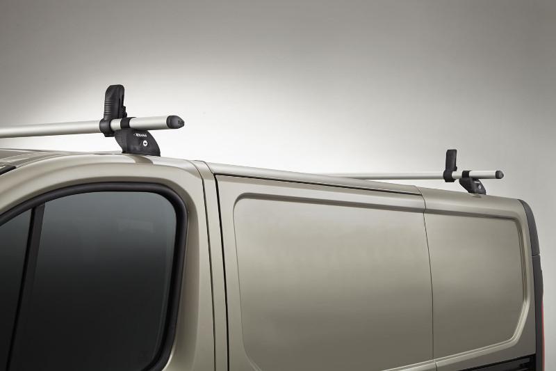 Lastenträger KammBar für Citroen Berlingo, Bj. 2008-2018, Normaldach ohne Dachklappe, mit Fixpunkt-Montage ohne Dachreling, 2er Set