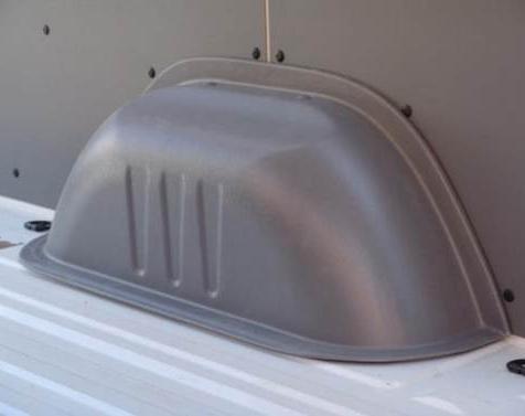Radkastenverkleidungen für Volkswagen Crafter, Bj. 2006-2017, Einzelbereifung, aus Kunststoff