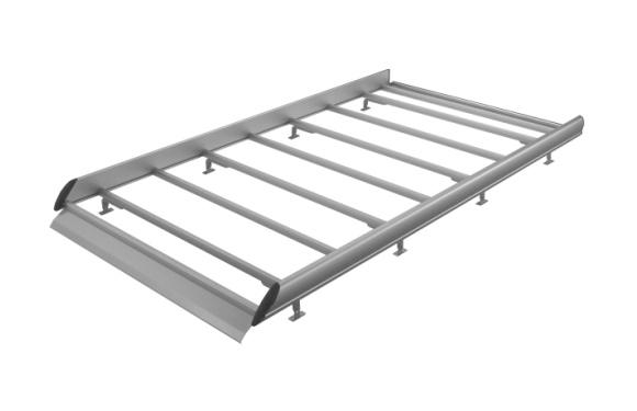 Dachgepäckträger aus Aluminium für Toyota Hiace, Bj. 1996-2012, Radstand 2985mm, Normaldach