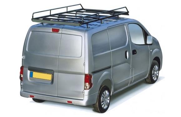 Dachgepäckträger aus Stahl für Nissan NV200, Bj. ab 2009, Radstand 2725mm, Normaldach, mit Heckklappe