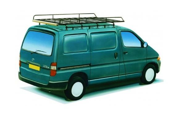 Dachgepäckträger aus Stahl für Toyota Hiace, Bj. 1996-2012, Radstand 3430mm, Normaldach