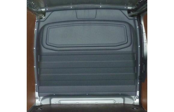 Trennwand ohne Fenster für Citroen Jumpy, Bj. 2007-2016, für Normal- und Hochdach, aus ABS-Kunststoff stoffbezogen