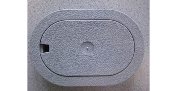 Zurrmulden (oval) zur Fußbodenmontage, 10er Pack