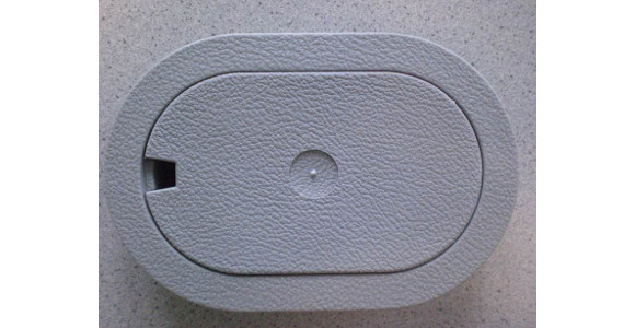 Zurrmulden (oval) zur Fußbodenmontage, 12er Pack