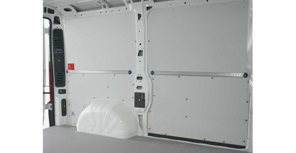Seitenwandverkleidung für Peugeot Partner, Bj. 2008-2018, Radstand 2728mm, L2