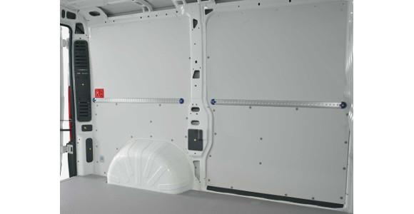 Seitenwandverkleidung für Nissan NV400, Bj. ab 2010, Radstand 3682mm, Gesamtlänge 6198mm, Hochdach, L3H2, Heckantrieb