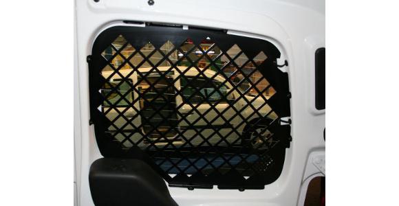 Fensterschutzgitter für Fiat Fiorino, Bj. ab 2008, für Fahrzeuge mit Hecktüren ohne Wischanlage