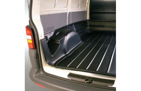Laderaumwanne für Peugeot Bipper Kastenwagen, Bj. ab 2008, für Original-Schutzgitter, ohne Ausschnitt für Schiebetür rechts