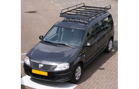 Dachgepäckträger aus Stahl für Dacia Logan Express, Bj. 2008-2012, Radstand 2905mm, ohne Dachreling