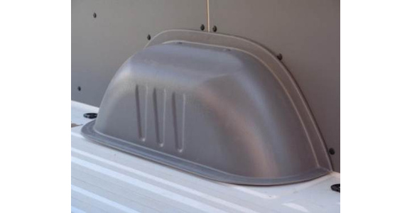 Radkastenverkleidungen für Volkswagen Crafter, Bj. 2006-2016, Zwillingsbereifung, aus ABS-Kunststoff