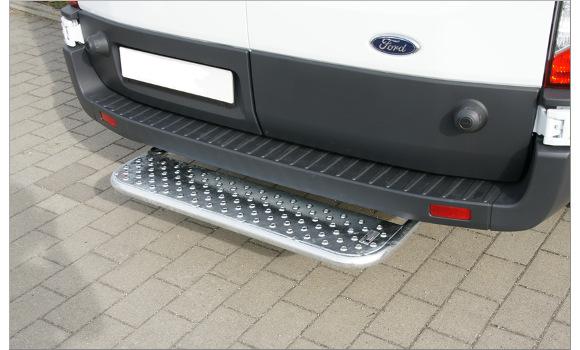 Starre Hecktrittstufe für Ford Transit, Bj. ab 2014, für Fahrzeuge ohne Anhängerkupplung