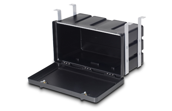 Unterbau-Werkzeugkasten, BxHxT: 650x350x290mm, 3-Punkt-Verriegelung mit Zylinderschloss