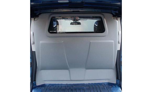 Trennwand mit Fenster für Opel Vivaro, Bj. 2014-2019, für Normal- und Hochdach, aus Polyester stoffbezogen, verwenden, wenn originale Trennwand verbaut war