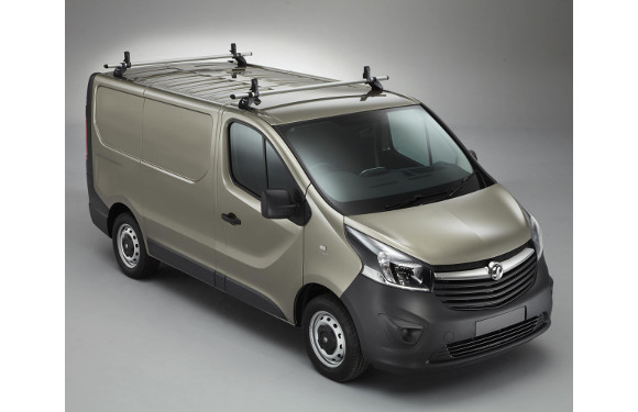 Lastenträger KammBar für Opel Vivaro, Bj. 2014-2019, Normaldach, 2er Set