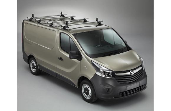 Lastenträger KammBar für Opel Vivaro, Bj. ab 2014, Normaldach, 4er Set