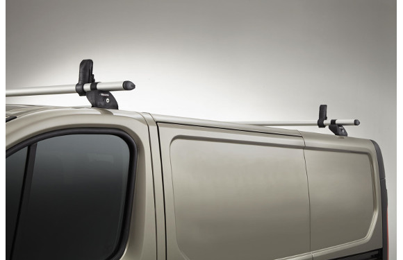 Lastenträger KammBar für Citroen Jumpy, Bj. ab 2016, Radstand 3275mm M, Normaldach, mit Hecktüren, 2er Set