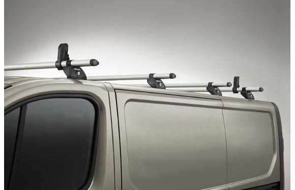 Lastenträger KammBar für Ford Transit, Bj. ab 2014, Mittelhochdach, 4er Set