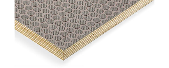 Laderaumboden für Citroen Jumpy, Bj. ab 2016, Radstand 3275mm XL, 9mm dick, braun