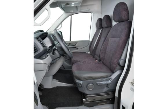 Sitzbezug in einem VW Crafter