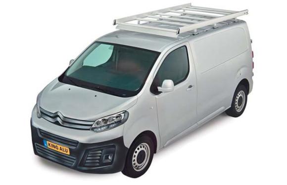 Dachgepäckträger aus Aluminium für Peugeot Expert