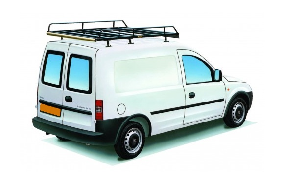 Dachgepäckträger aus Stahl für Opel Combo, Bj. 2002-2011, Radstand 2716mm, Normaldach, mit Hecktüren