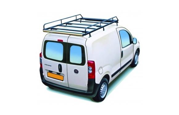 Dachgepäckträger aus Stahl für Fiat Fiorino, Bj. ab 2008, Radstand 2513mm, mit Hecktüren
