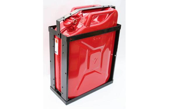 Kanisterhalter für 20l-Benzinkanister (Lieferung ohne Kanister)
