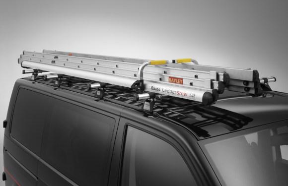 Leitersciherung für Dachgepäckträger