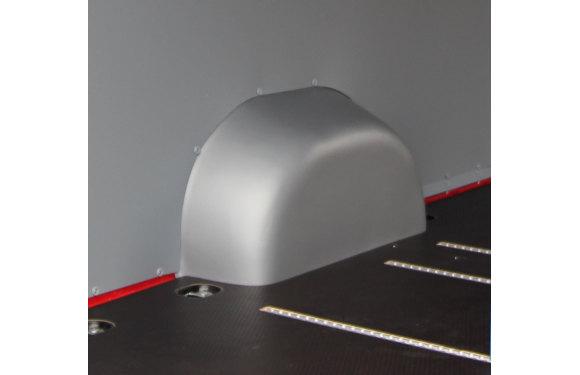 Radkastenverkleidung in einem Peugeot Boxer