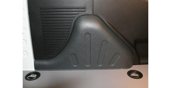 Radkastenverkleidungen für Peugeot Partner, Bj. 2008-2018, aus ABS-Kunststoff
