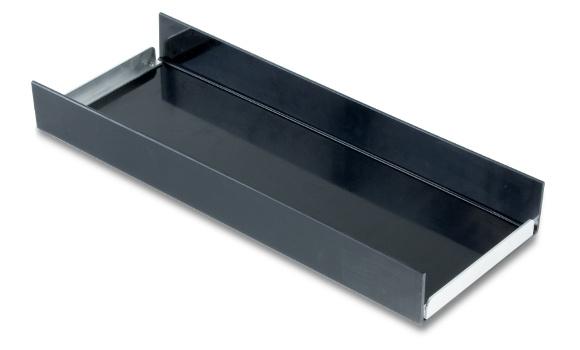 Schublade passend für Unterbau-Werkzeugkasten mit den Maßen (BxHxT) 650x350x290mm, HD-PE, schwarz