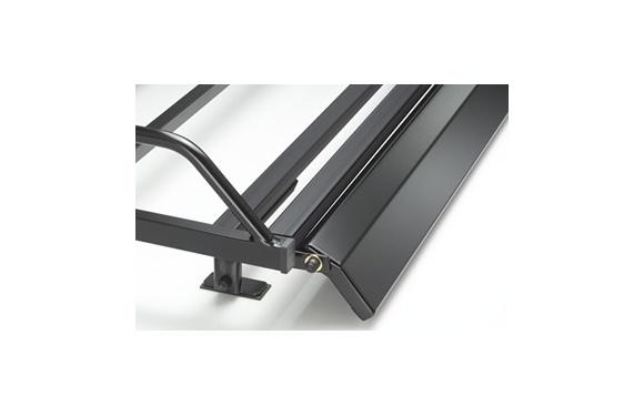 Spoiler für Stahl-Dachgepäckträger