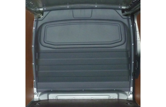 Trennwand ohne Fenster für Citroen Jumpy, Bj. 2007-2016, für Normal- und Hochdach, aus ABS-Kunststoff
