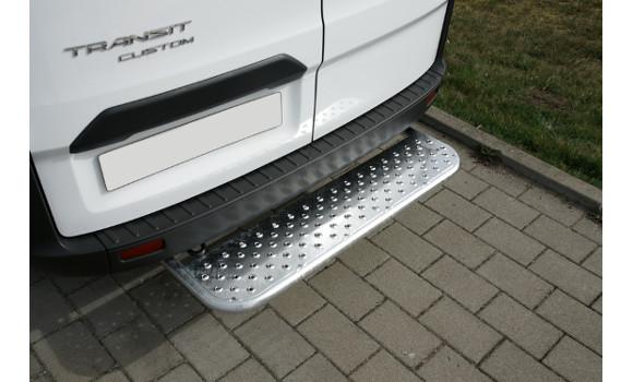 Starre Hecktrittstufe für Ford Custom, Bj. ab 2012, für Fahrzeuge ohne Anhängerkupplung